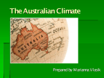 The Australian Climate