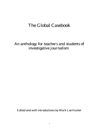 UNESCO global casebook