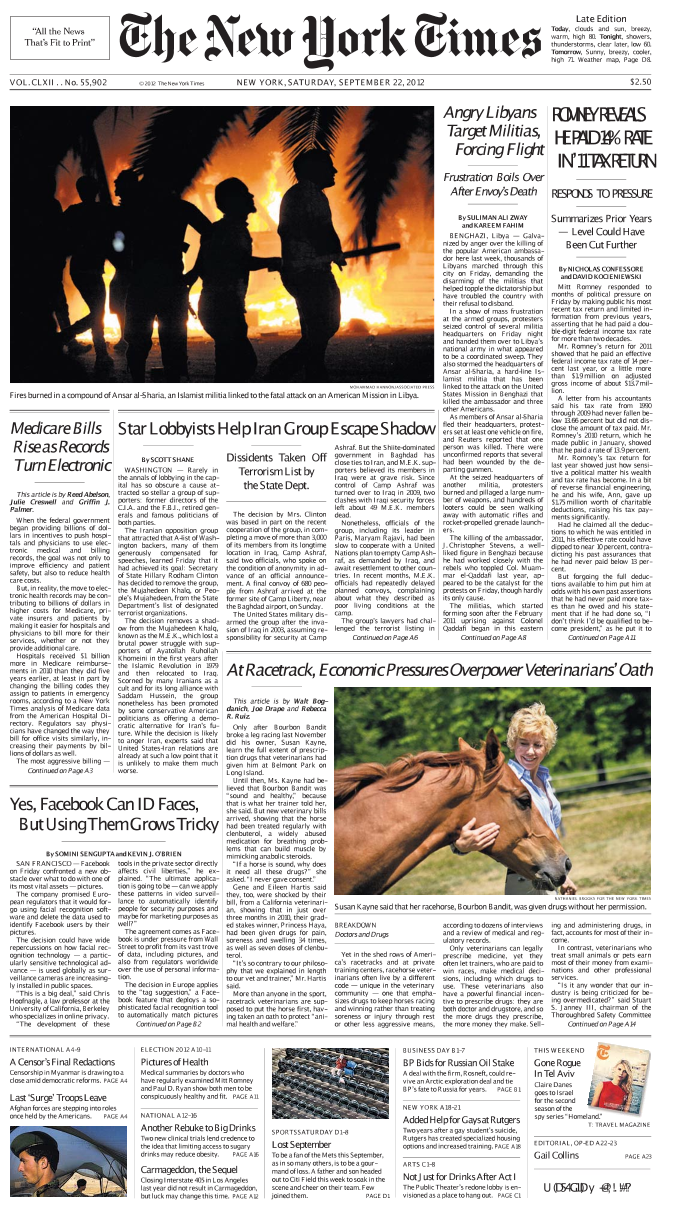 c173494028 The New York Times - Saturday