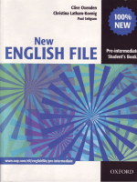 New English File Sb (pre-int)