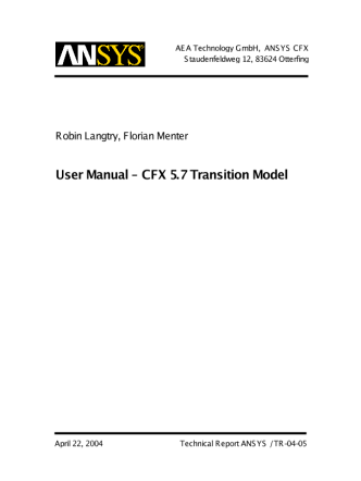 TransitionModel-UserManual