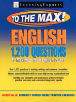 English to the Max 1,200 Questions That Will Maximize Your English Power