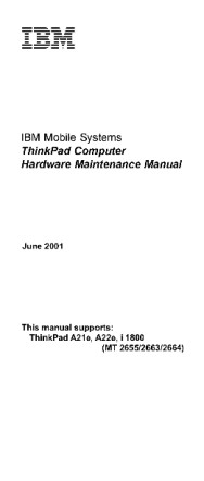 service-manual-IBM-ThinkPad-A21e-A22e-i1800