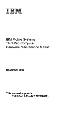 service-manual-IBM-ThinkPad-A21e