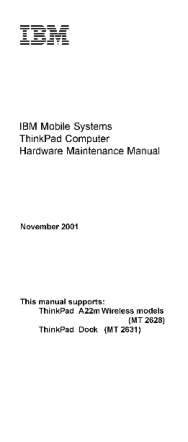 service-manual-IBM-ThinkPad-A22m