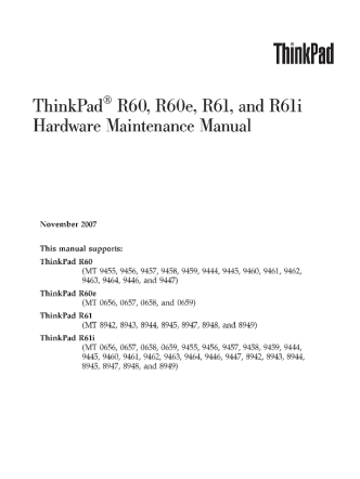 service-manual-IBM-ThinkPad-R60-R60e-R61-R61i