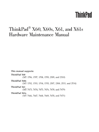 service-manual-IBM-ThinkPad-X60-X60s-X61-X61s