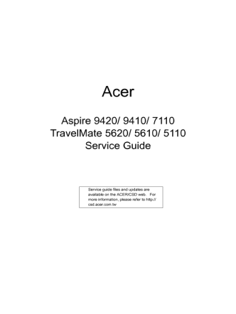 service-manual-Acer-Aspire-9420-9410-7110-TravelMate-5620-5610-5110