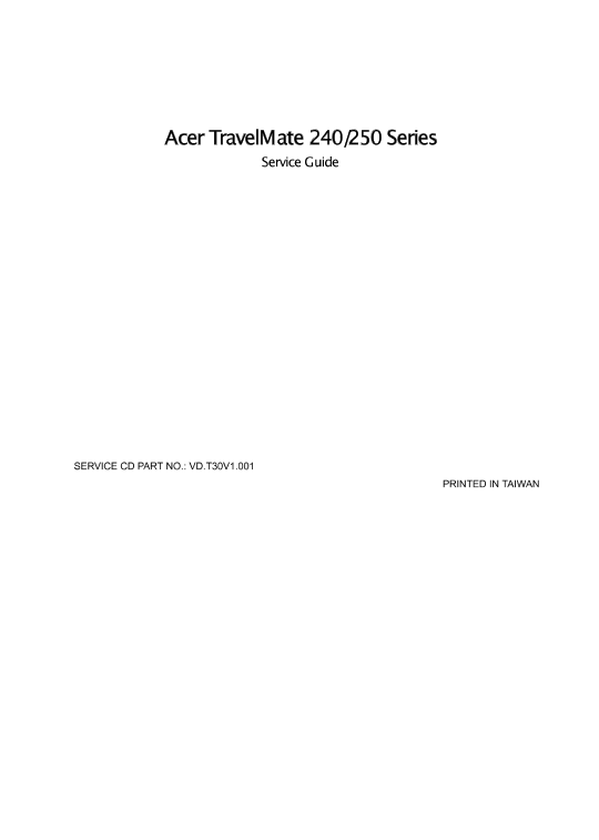 DOWNLOAD DRIVER: ACER TRAVELMATE 240/250 SERIES AMBIT MODEM