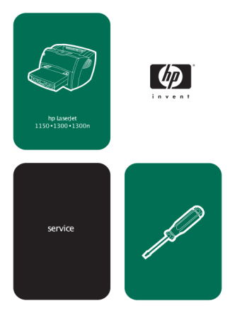 Hewlett Packard LaserJet 1150 1300 Service Manual-
