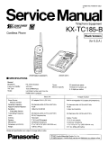 Panasonic KX-TC185