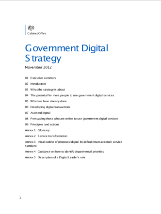 government-digital-strategy