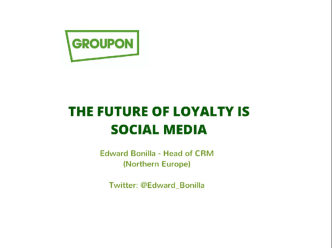 Retailer Case Study: The future of loyalty is social media