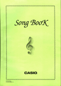 CASIO LK-300. Song book