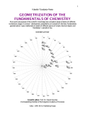 Geometrization of the Fundamentals of Chemistry