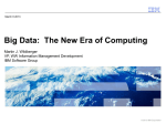 Big Data: The New Era of Computing
