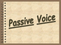 Passive Voice&Questions