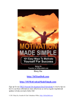 MotivationMadeSimple