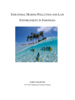 INDUSTRIAL SEA WATER POLLUTION AND LAW ENFORCEMENT IN INDONESIA