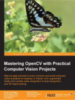 Mastering OpenCV with Practical Computer Vision Projects [eBook]