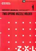 Two Spring Nozzle Holder