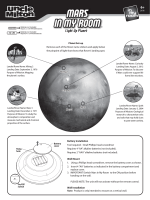 Mars In My Room Manual Download - Uncle Milton