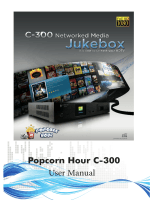 Popcorn Hour C-300 User Manual