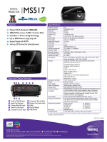 DIGITAL PROJECTOR Features Specifications Native - Visual Apex