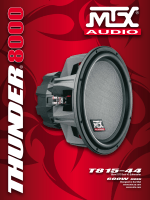T815-44 - MTX Audio