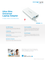 mCube Lite Product Sheet - Innergie