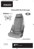 ShiatsuMAX Back Massager