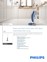 FC7020/01 Philips Sweep and Steam Cleaner