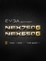 EVGA Support Manual for 120-PG-0750