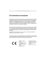 FCC Information and Copyright