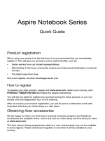 Aspire Notebook Series