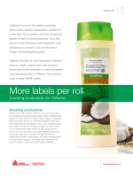 Download the full Oriflame case study - Label  Packaging Materials
