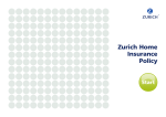 Zurich Home Insurance Policy - Zurich Insurance