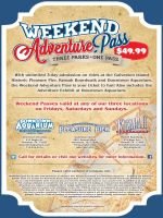 Weekend Adventure Pass - Kemah Boardwalk