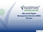 Microsoft Enterprise Agreement Review - ValueOptions