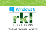June - Windows 8