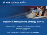 Document Management Strategy - Marketing ResearchBase