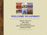 Welcome to London! - Koolielu