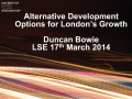 Alternative development options for London&#39