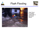 Flash floods