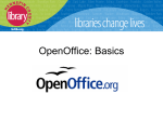 What is OpenOffice.org? - WebJunction