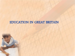 education in britain - Fernanda&#39