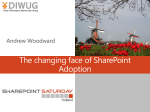The changing face of SharePoint Adoption.pptx - SPS Events