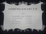 SAMSUNG GALAXY S IV - WordPress.com