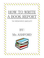 How to Write a Book Report - Quia