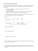 How to Translate Percentage Word Problems - Chatt